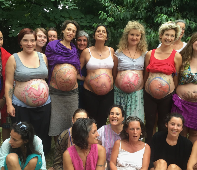 Natural Ultrasound created by Naoli Vinaver. Participants in Toulousse, France, 2016